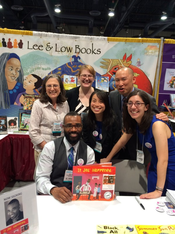 Me with my Lee & Low Books family.